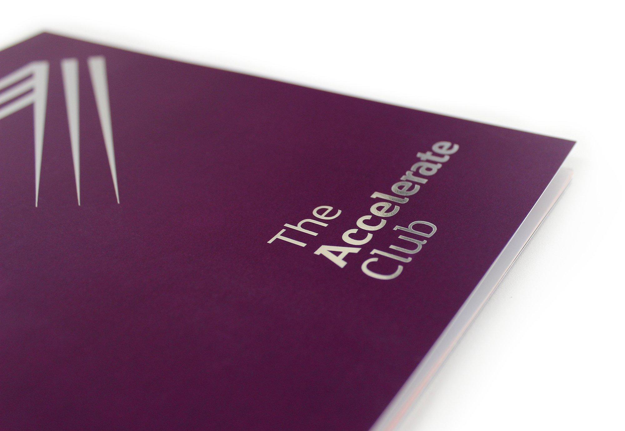 Alzheimer's Booklet Foiling Detail Front Cover